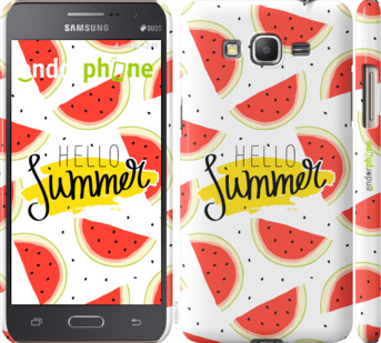 "Чехол для Samsung Galaxy Grand Prime VE G531H ""Hello Summer"" - интернет-магазин чехлов endorphone.com.ua"