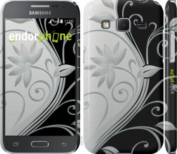 """для Samsung Galaxy Core Prime VE G361H """"Цветы на чёрно-белом фоне"""" - интернет-магазин чехлов endorphone.com.ua"""