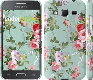 """Чехол для Samsung Galaxy Core Prime VE G361H """"Цветочные обои 2"""" - интернет-магазин чехлов endorphone.com.ua"""