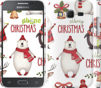 "Чехол для Samsung Galaxy Core Prime G360H ""Merry Christmas"" - интернет-магазин чехлов endorphone.com.ua"