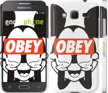 "Чехол для Samsung Galaxy Core Prime VE G361H ""Obey. Mickey mouse"" - интернет-магазин чехлов endorphone.com.ua"