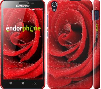 """Чехол для Lenovo S850 """"Красная роза"""" - интернет-магазин чехлов endorphone.com.ua"""