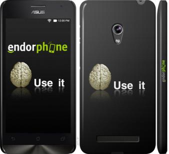 "Чехол для Asus Zenfone 5 ""Use it"" - интернет-магазин чехлов endorphone.com.ua"