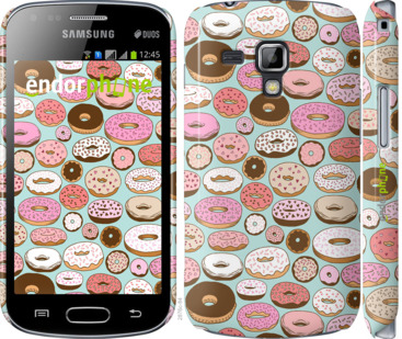 """Чехол для Samsung Galaxy S Duos s7562 """"Пончики в глазури"""" - интернет-магазин чехлов endorphone.com.ua"""