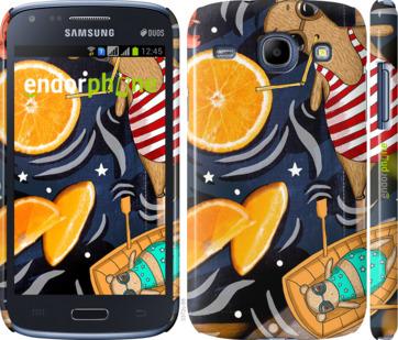"""Чехол для Samsung Galaxy Core i8262 """"Апельсиновый рай"""" - интернет-магазин чехлов endorphone.com.ua"""