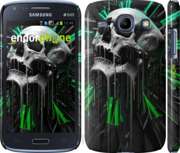 """Чехол для Samsung Galaxy Core i8262 """"Череп-часы"""" - интернет-магазин чехлов endorphone.com.ua"""