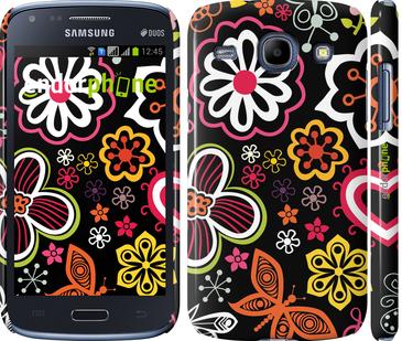 """Чехол для Samsung Galaxy Core i8262 """"Цветочный узор 1"""" - интернет-магазин чехлов endorphone.com.ua"""