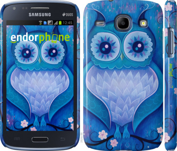 "Чехол для Samsung Galaxy Core i8262 ""Сова 4"" - интернет-магазин чехлов endorphone.com.ua"