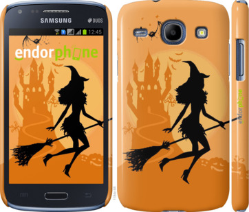 "Чехол для Samsung Galaxy Core i8262 ""Ведьма на метле"" - интернет-магазин чехлов endorphone.com.ua"