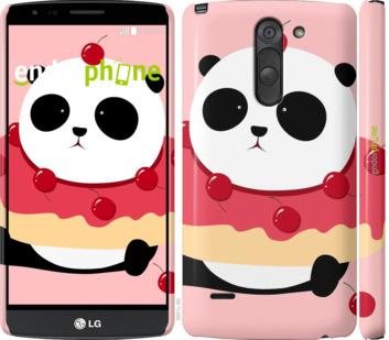 """Чехол для LG G3 Stylus D690 """"Панда с пончиком"""" - интернет-магазин чехлов endorphone.com.ua"""