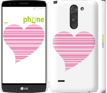 "Чехол для LG G3 Stylus D690 ""Сердце"" - интернет-магазин чехлов endorphone.com.ua"