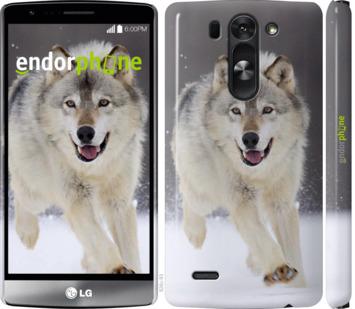 """Чехол для LG G3s D724 """"Бегущий волк"""" - интернет-магазин чехлов endorphone.com.ua"""