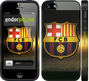 "iPhone 5 ""ФК Барселона"" - интернет-магазин чехлов endorphone.com.ua"