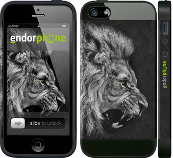 "iPhone 5 ""Лев"" - интернет-магазин чехлов endorphone.com.ua"