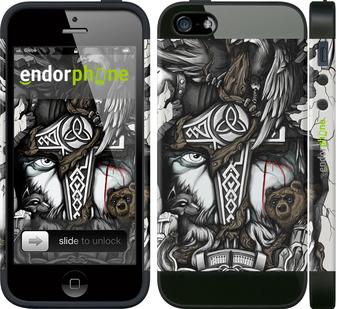 """Чехол для телефона """"Тату Викинг"""" - интернет-магазин чехлов endorphone.com.ua"""