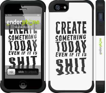 "iPhone 5 ""Create Something Today 1"" - интернет-магазин чехлов endorphone.com.ua"