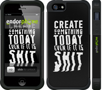 "iPhone 5 ""Create Something Today 3"" - интернет-магазин чехлов endorphone.com.ua"
