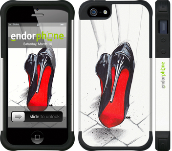 "iPhone 5 ""Devil Wears Louboutin"" - интернет-магазин чехлов endorphone.com.ua"