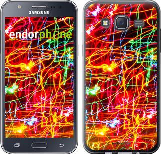 """Чехол для Samsung Galaxy J5 (2015) J500H """"Неоновые узоры"""" - интернет-магазин чехлов endorphone.com.ua"""