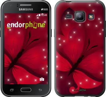 "Чехол для Samsung Galaxy J1 J100H ""Лунная бабочка"" - интернет-магазин чехлов endorphone.com.ua"