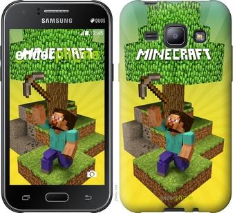 "Чехол для Samsung Galaxy J1 J100H ""Minecraft 5"" - интернет-магазин чехлов endorphone.com.ua"