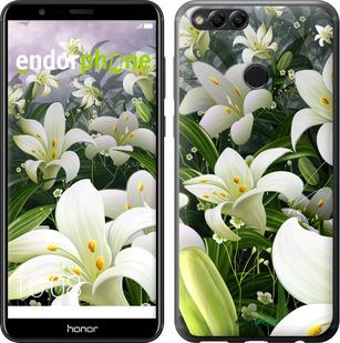 Чехлы для Huawei Honor 7X, - печать на силиконовых чехлах для Хуавей хонор 7х