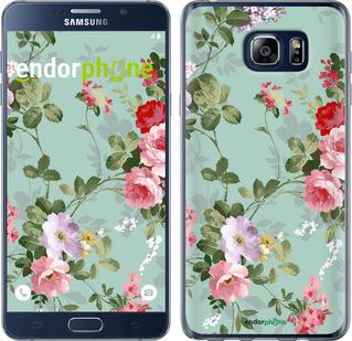 """Чехол для Samsung Galaxy Note 5 N920C """"Цветочные обои 2"""" - интернет-магазин чехлов endorphone.com.ua"""