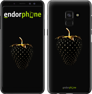 Чехлы для Samsung Galaxy A8 2018 A530F, - печать на TPU черных чехлах для Самсунг галакси а8 2018 а530ф