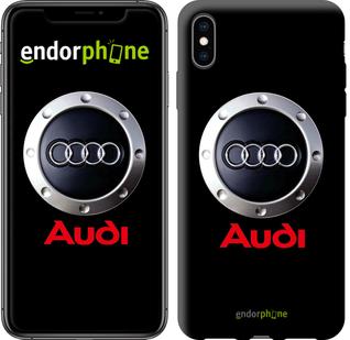 """для iPhone XS Max """"Audi. Logo v2"""" - интернет-магазин чехлов endorphone.com.ua"""