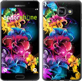 """Чехол для Samsung Galaxy A5 (2016) A510F """"Абстрактные цветы"""" - интернет-магазин чехлов endorphone.com.ua"""
