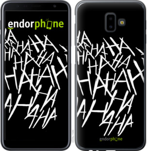 "Чехол для Samsung Galaxy J6 Plus 2018 ""joker hahaha"" - интернет-магазин чехлов endorphone.com.ua"