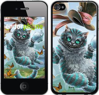 """Чехол для iPhone 4s """"Чеширский кот 2"""" - интернет-магазин чехлов endorphone.com.ua"""
