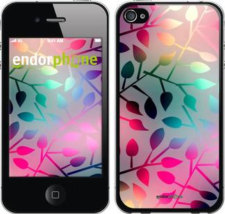 """Чехол для iPhone 4s """"Листья"""" - интернет-магазин чехлов endorphone.com.ua"""