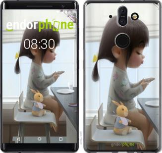 Чехлы для Nokia 8 Sirocco, - печать на силиконовых чехлах для Нокиа 8 сирокко