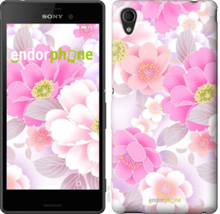 """Чехол для Sony Xperia M4 Aqua E2312 """"Цвет яблони"""" - интернет-магазин чехлов endorphone.com.ua"""