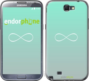 """Чехол для Samsung Galaxy Note 2 N7100 """"Знак бесконечности"""" - интернет-магазин чехлов endorphone.com.ua"""