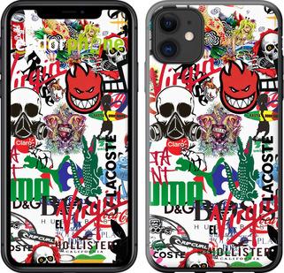 Чехлы для iPhone 11, - печать на силиконовых чехлах для айфон 11