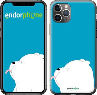 "TPU черный чехол для iPhone 11 Pro Max ""Мишка 1"" - интернет-магазин чехлов endorphone.com.ua"