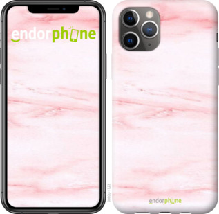 "Чехол для iPhone 11 Pro Max ""розовый мрамор"" - интернет-магазин чехлов endorphone.com.ua"