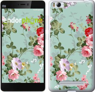 """Чехол для Xiaomi Mi4c """"Цветочные обои 2"""" - интернет-магазин чехлов endorphone.com.ua"""