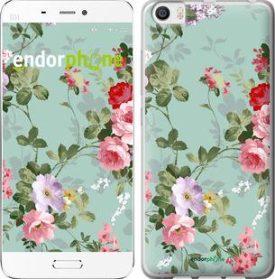 """Чехол для Xiaomi Mi5 """"Цветочные обои 2"""" - интернет-магазин чехлов endorphone.com.ua"""