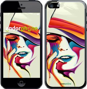 """Чехол для телефона """"Красочная женщина в шляпе"""" - интернет-магазин чехлов endorphone.com.ua"""