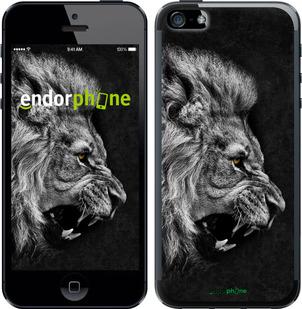 """Чехол для iPhone 5 """"Лев"""" - интернет-магазин чехлов endorphone.com.ua"""