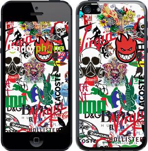 """Чехол для телефона """"Many different logos"""" - интернет-магазин чехлов endorphone.com.ua"""