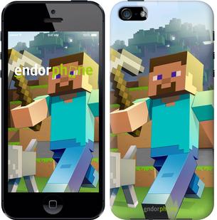 """Чехол для iPhone SE """"Minecraft 4"""" - интернет-магазин чехлов endorphone.com.ua"""
