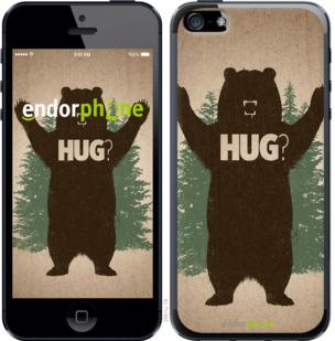 "Чехол для iPhone 5 ""Обними медведя"" - интернет-магазин чехлов endorphone.com.ua"