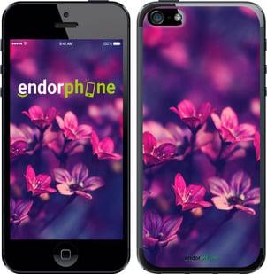 """Чехол для телефона """"Пурпурные цветы"""" - интернет-магазин чехлов endorphone.com.ua"""