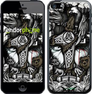 "Чехол для iPhone 5 ""Тату Викинг"" - интернет-магазин чехлов endorphone.com.ua"