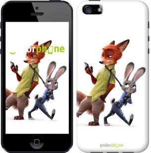 "Чехол для iPhone 5s ""Зверополис v2"" - интернет-магазин чехлов endorphone.com.ua"