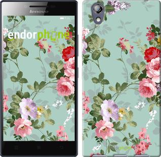 """Чехол для Lenovo P70t """"Цветочные обои 2"""" - интернет-магазин чехлов endorphone.com.ua"""